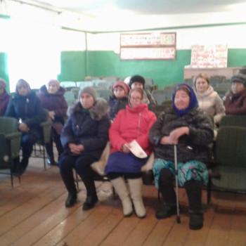 14 ноября в д. Староаккулаево прошло Предварительное собрание по программе ППМИ – 2020
